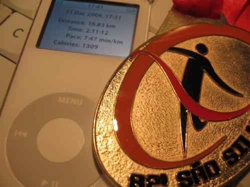 iPod nano e Nike+ usado na São Silvestre