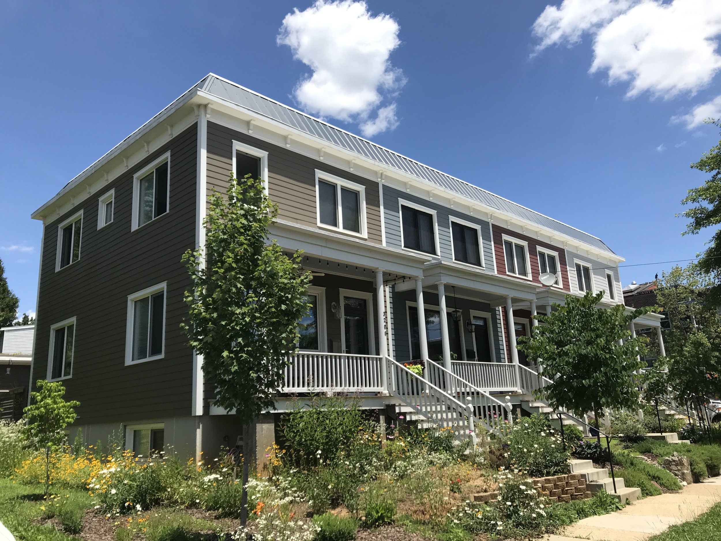 Perry Street Townhomes - Homes for the Future