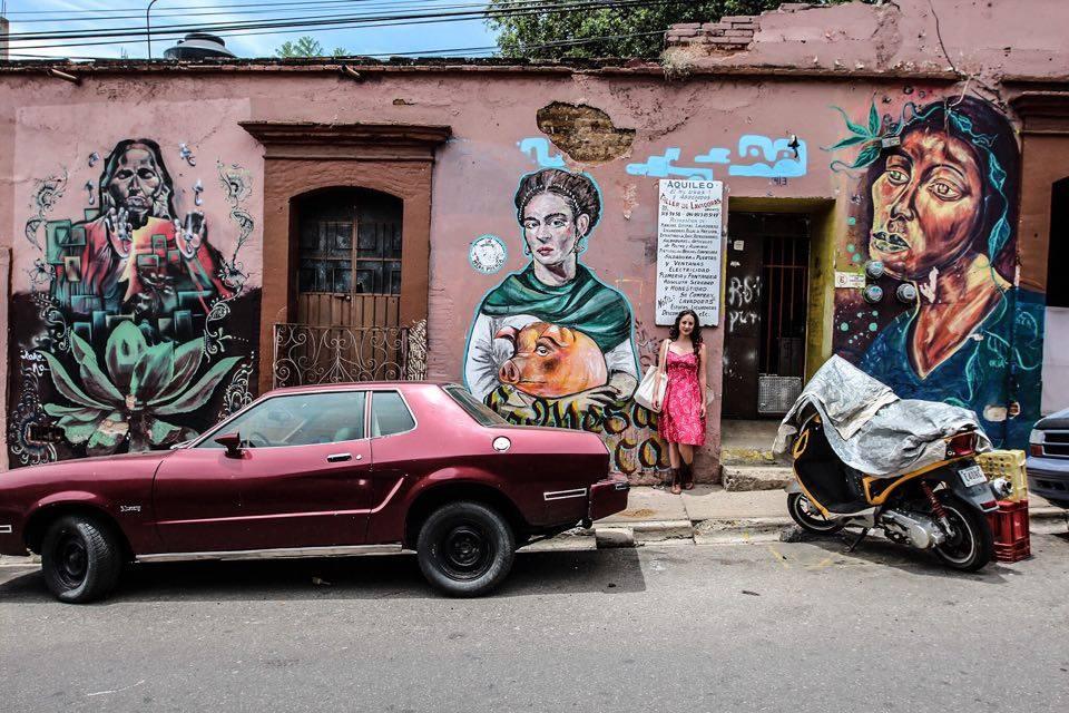 Ciudad de Oaxaca de Juarez, Mexico. August 2015. Photo by Alice Driver.