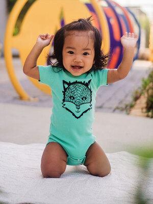 Infant Girl and Boy Washington  /'Made./' Cotton One Piece Bodysuit