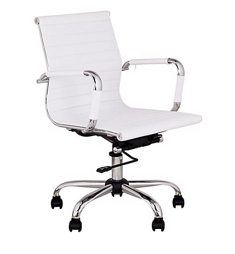 WHITE OFFICE CHAIRS | QTY 100 | $50