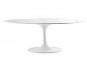 OVAL TULIP COFFEE TABLE | QTY 1 | $100