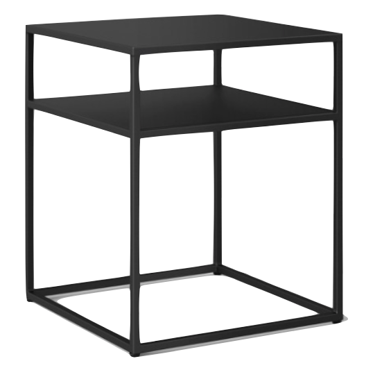 BLACK METAL STEEL FRAME END TABLE | QTY 6 | $35