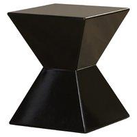 BLACK GEO END TABLE | 6 | $50