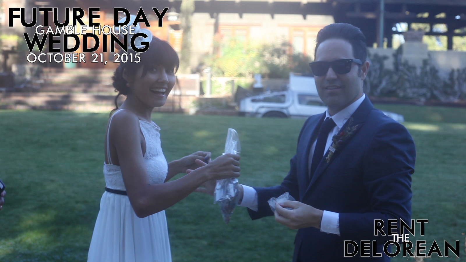 Future Day Wedding at The Gamble House