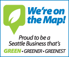 Seattle's Green Business map