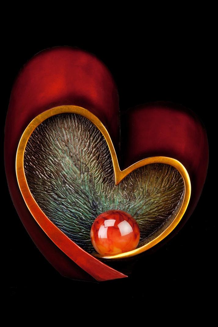 "Follow Your Heart (8"" H)"