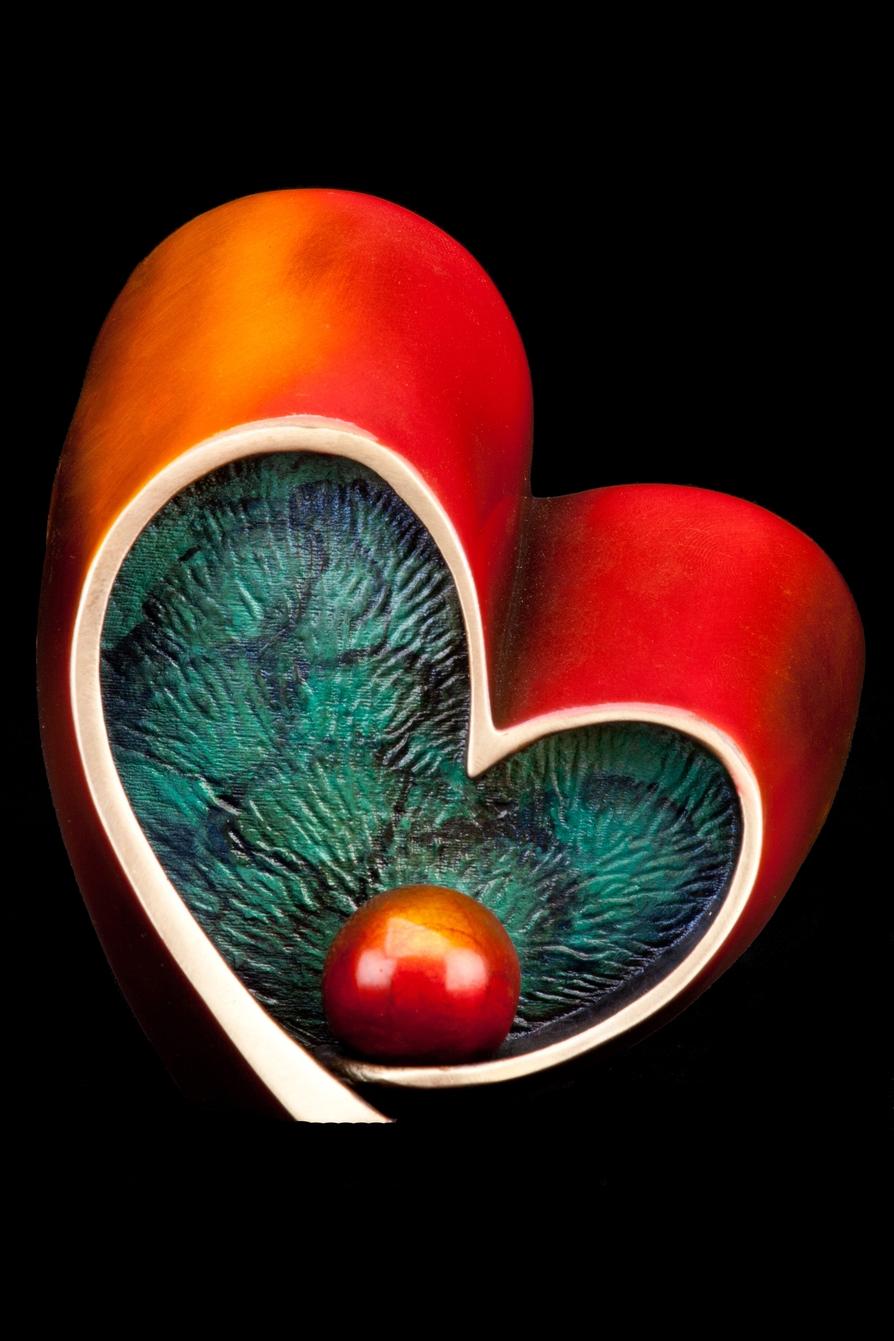 """Follow Your Heart Miniature (4.25"""" H)"""