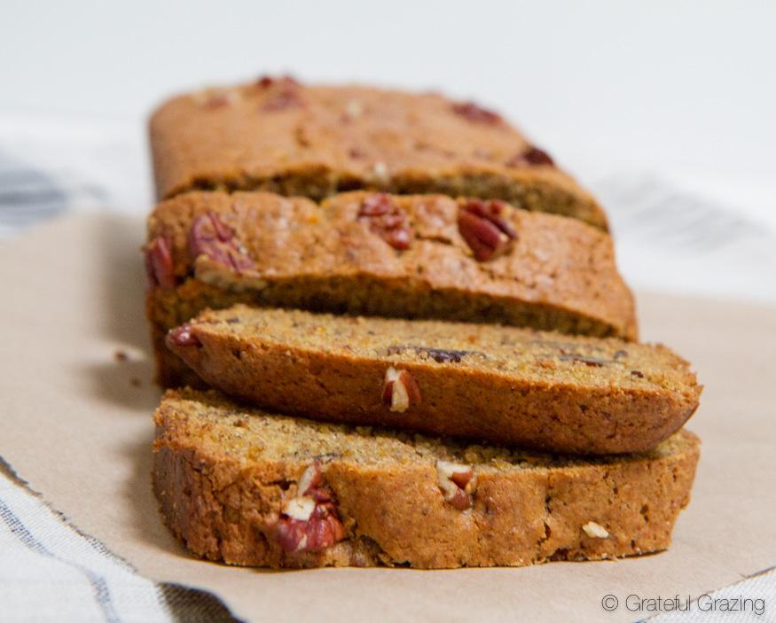 vegan sweet potato bread