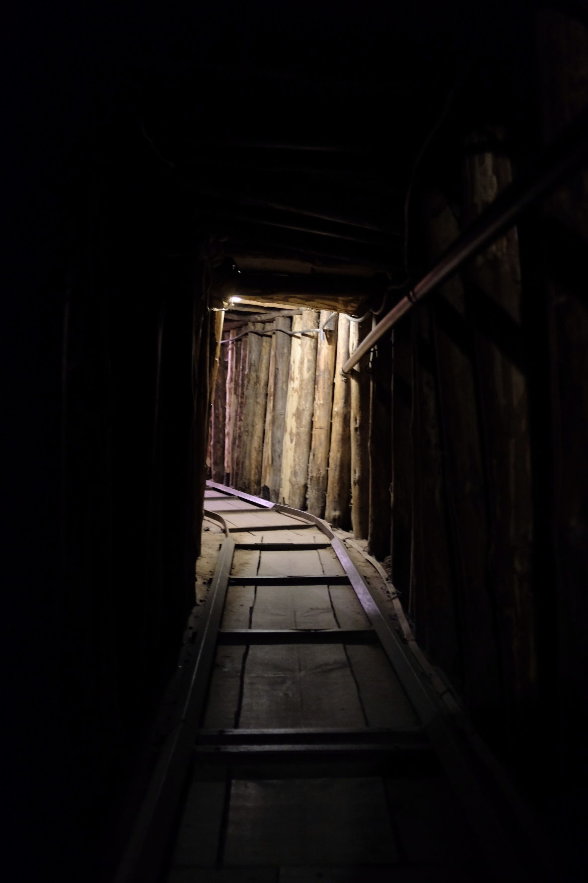 Tunnel used during the war to get supplies to the city