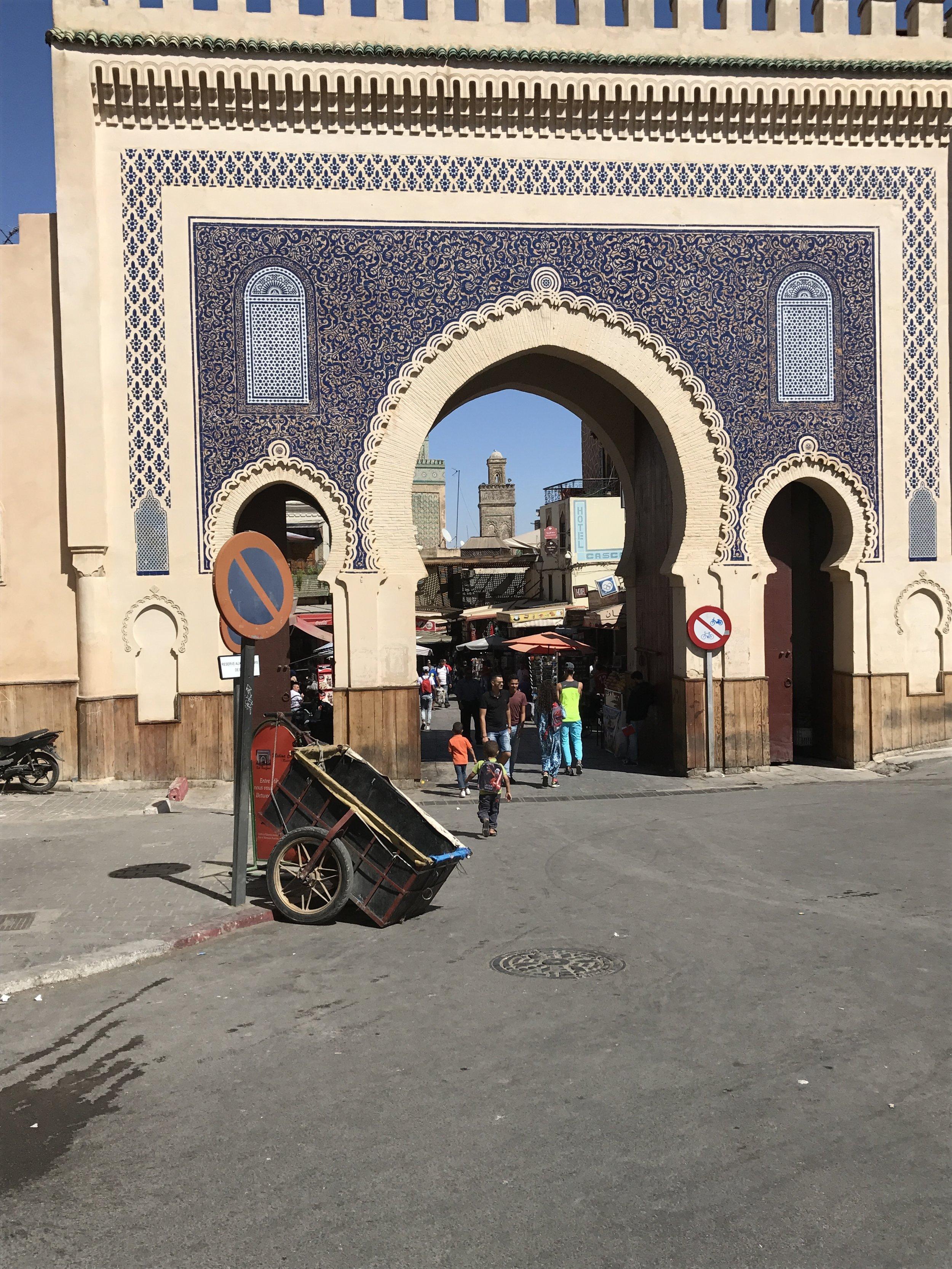 Bab Bou Jeloud, City Gate