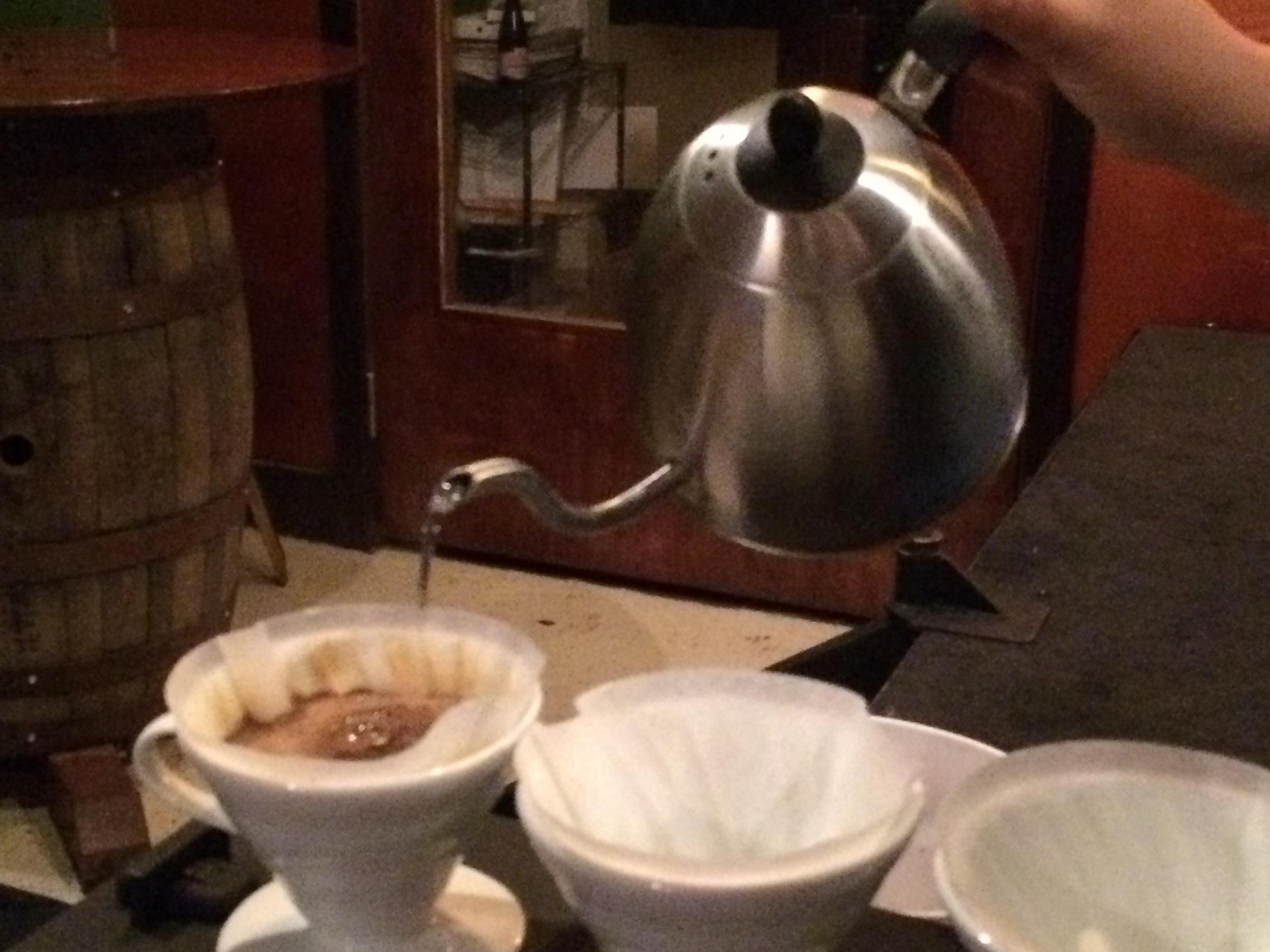 mountainridge coffee pourover