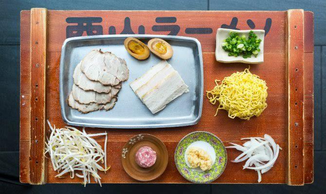Daikaya ramen ingredients