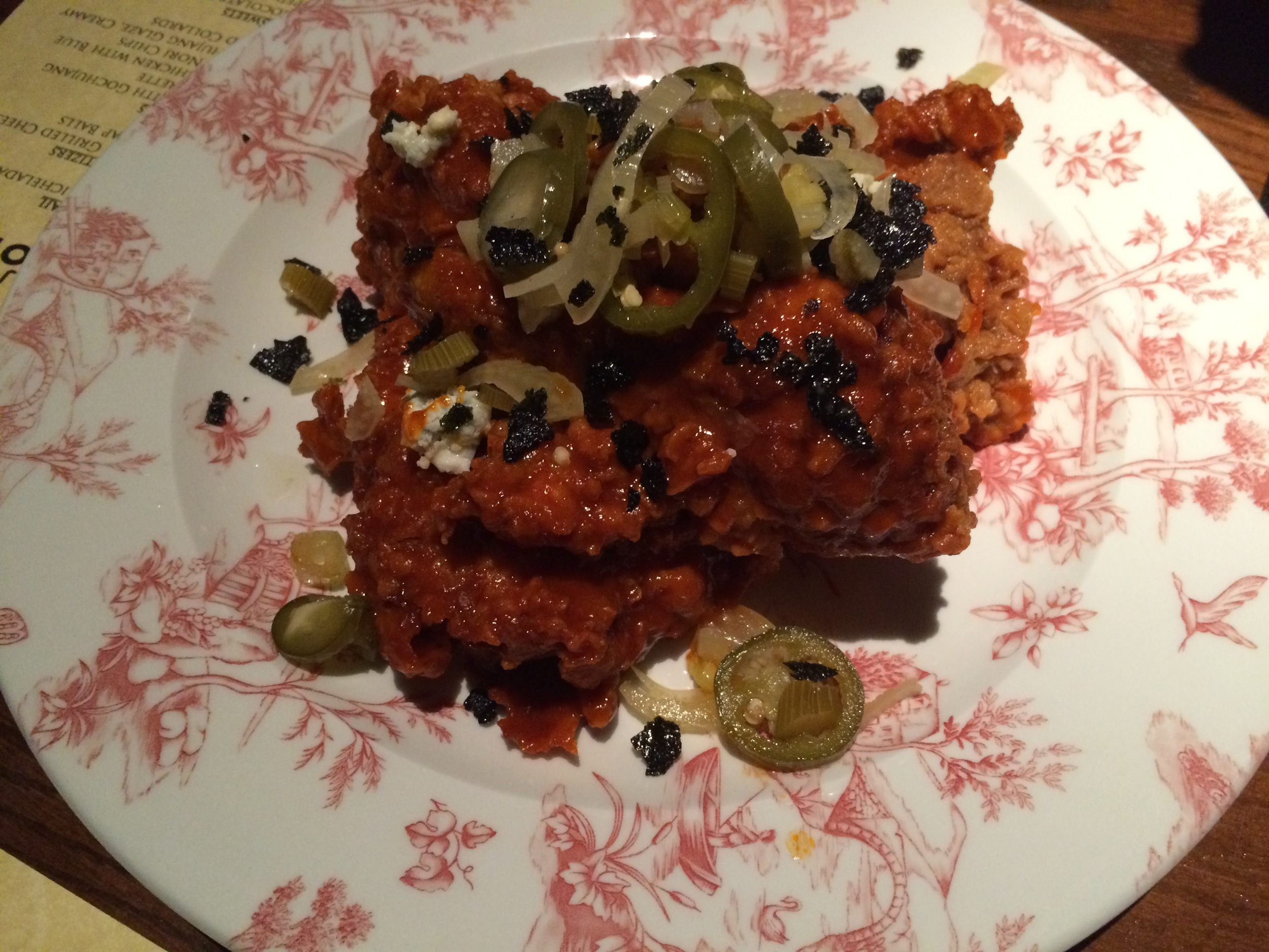 Gochujang fried chicken - To die for!
