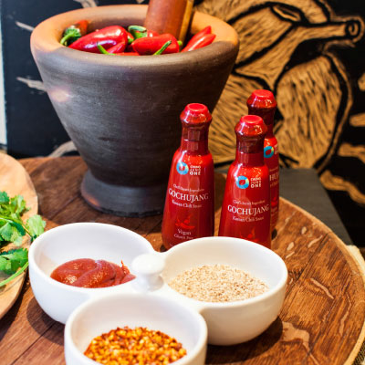 Gochujang sauce ingredients (Photo courtesy Chung Jung One)