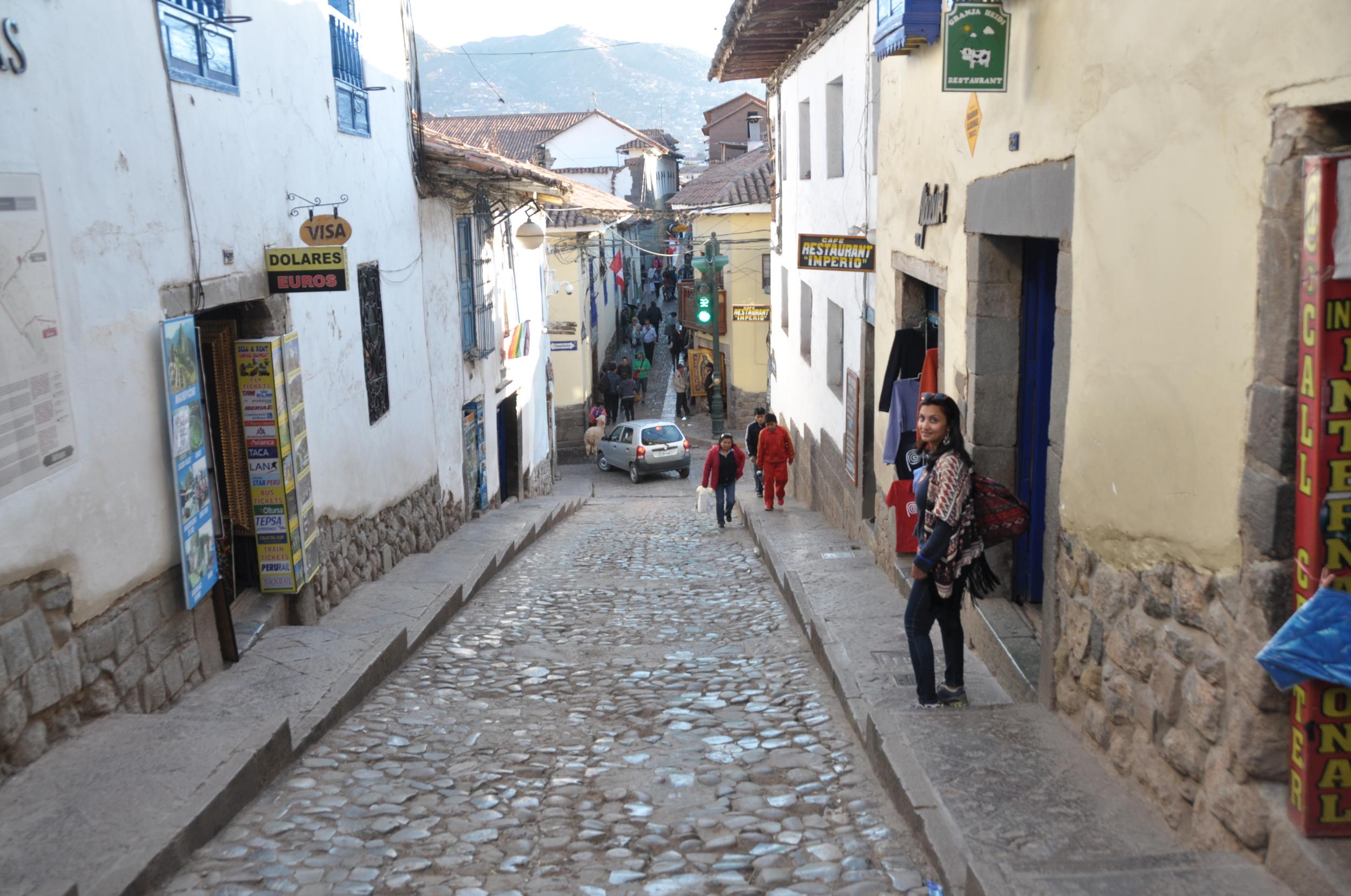 Walking around San Blas