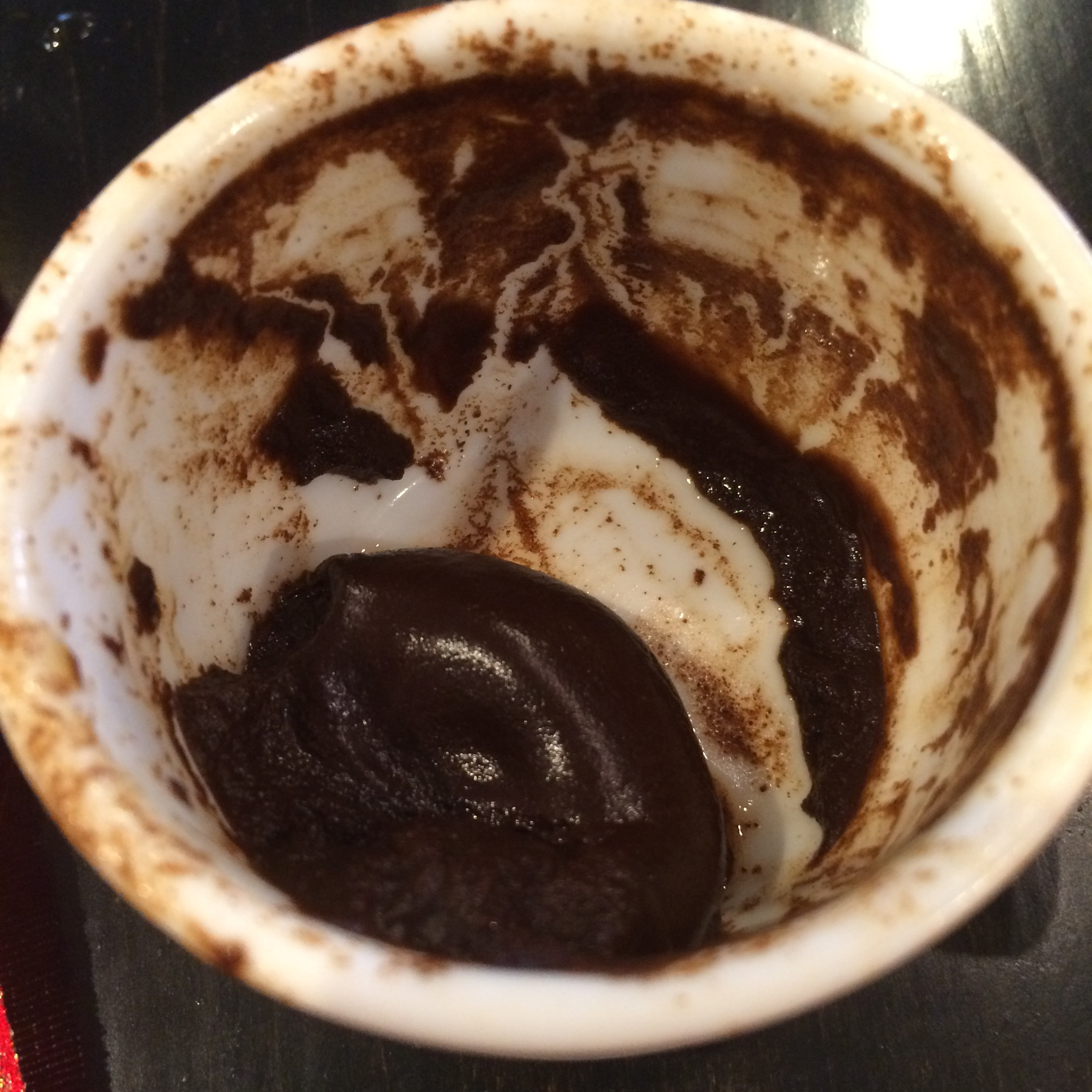 what do you see? fortune telling coffee grounds