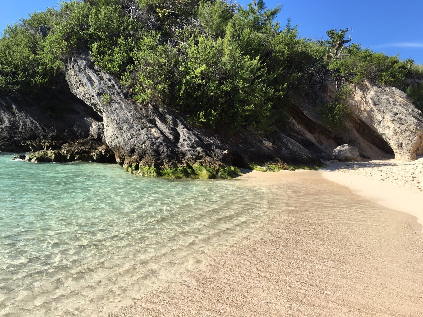 The most amazing cove - all to ourselves! (photo by my friend sk)