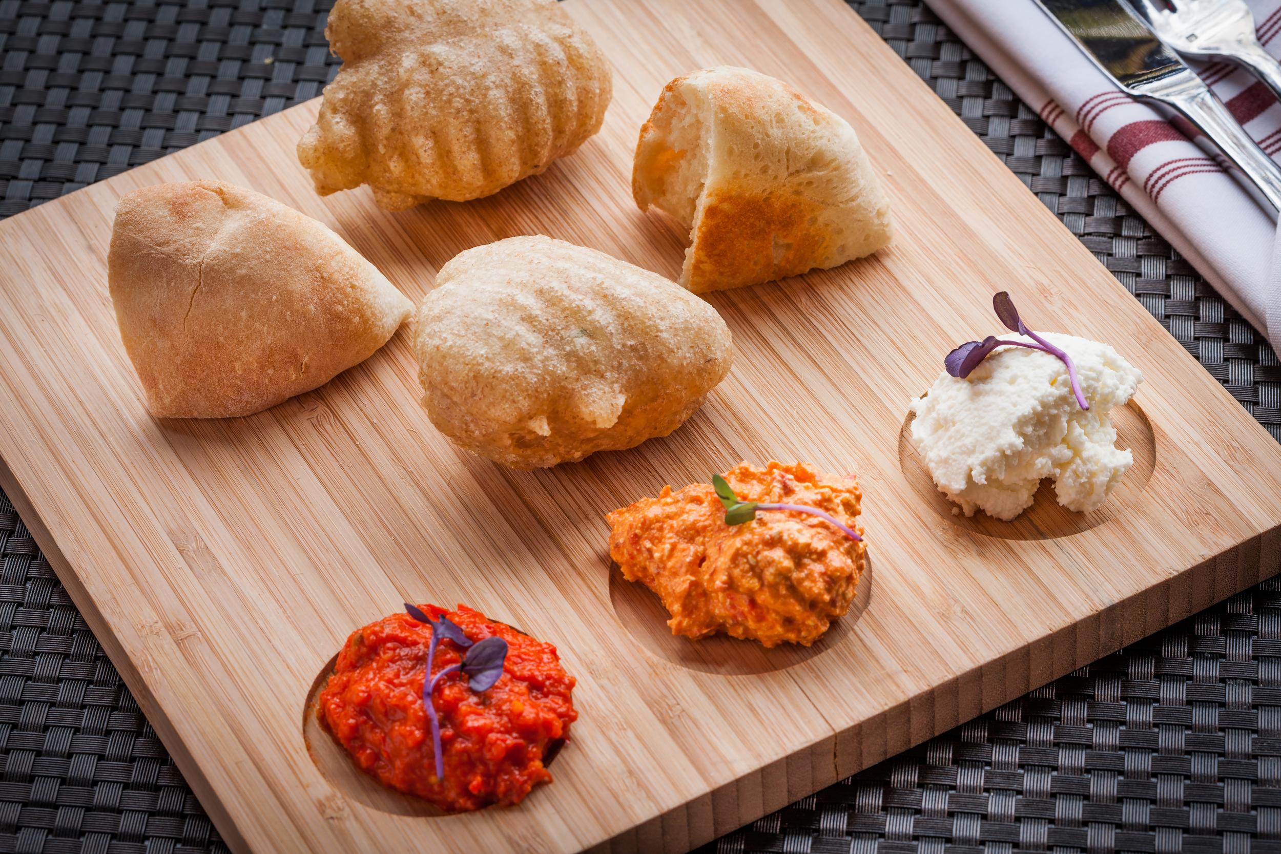 Spreads and bread (Photo courtesy Ambar )