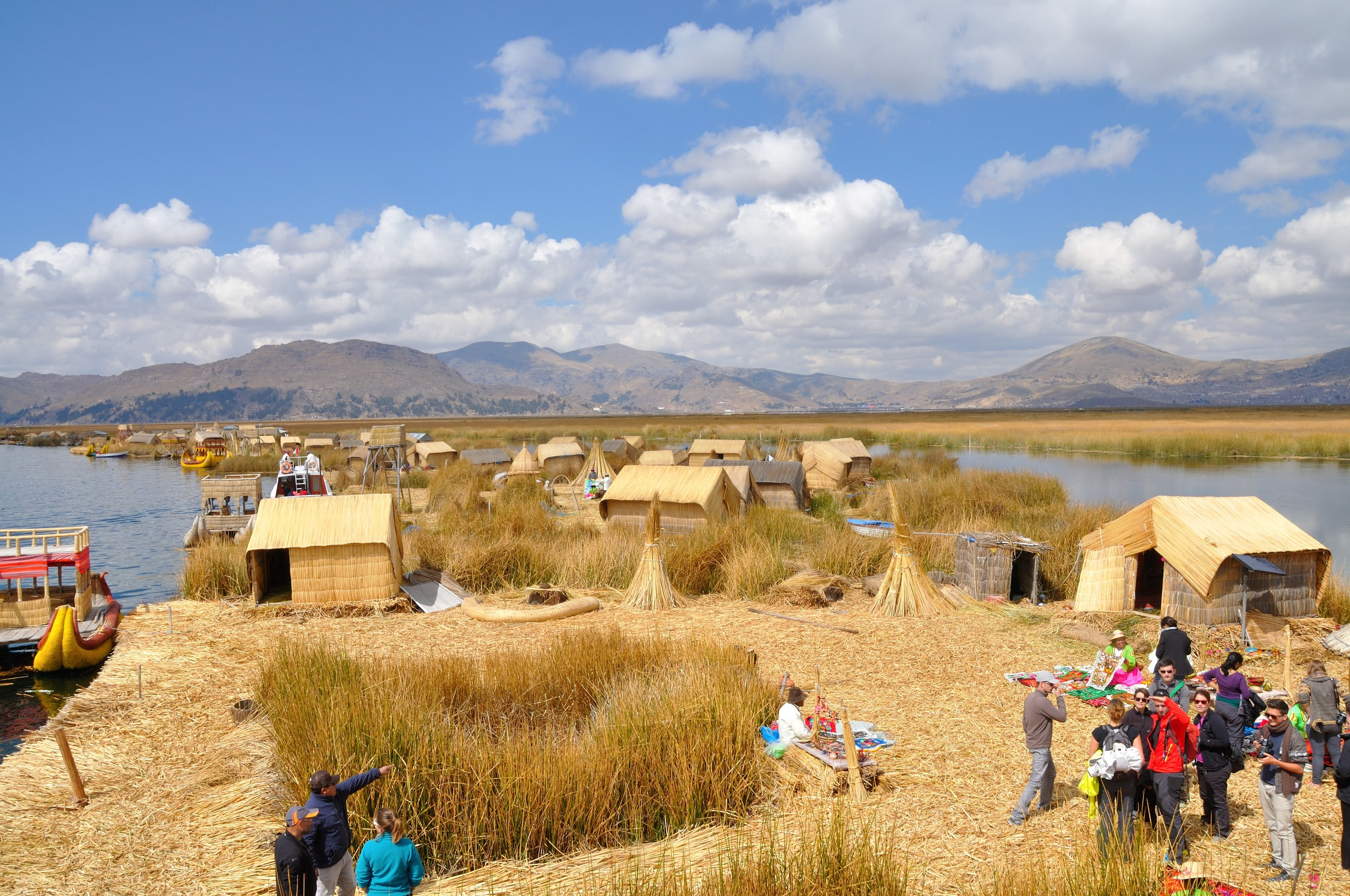 getting to uros floating islands