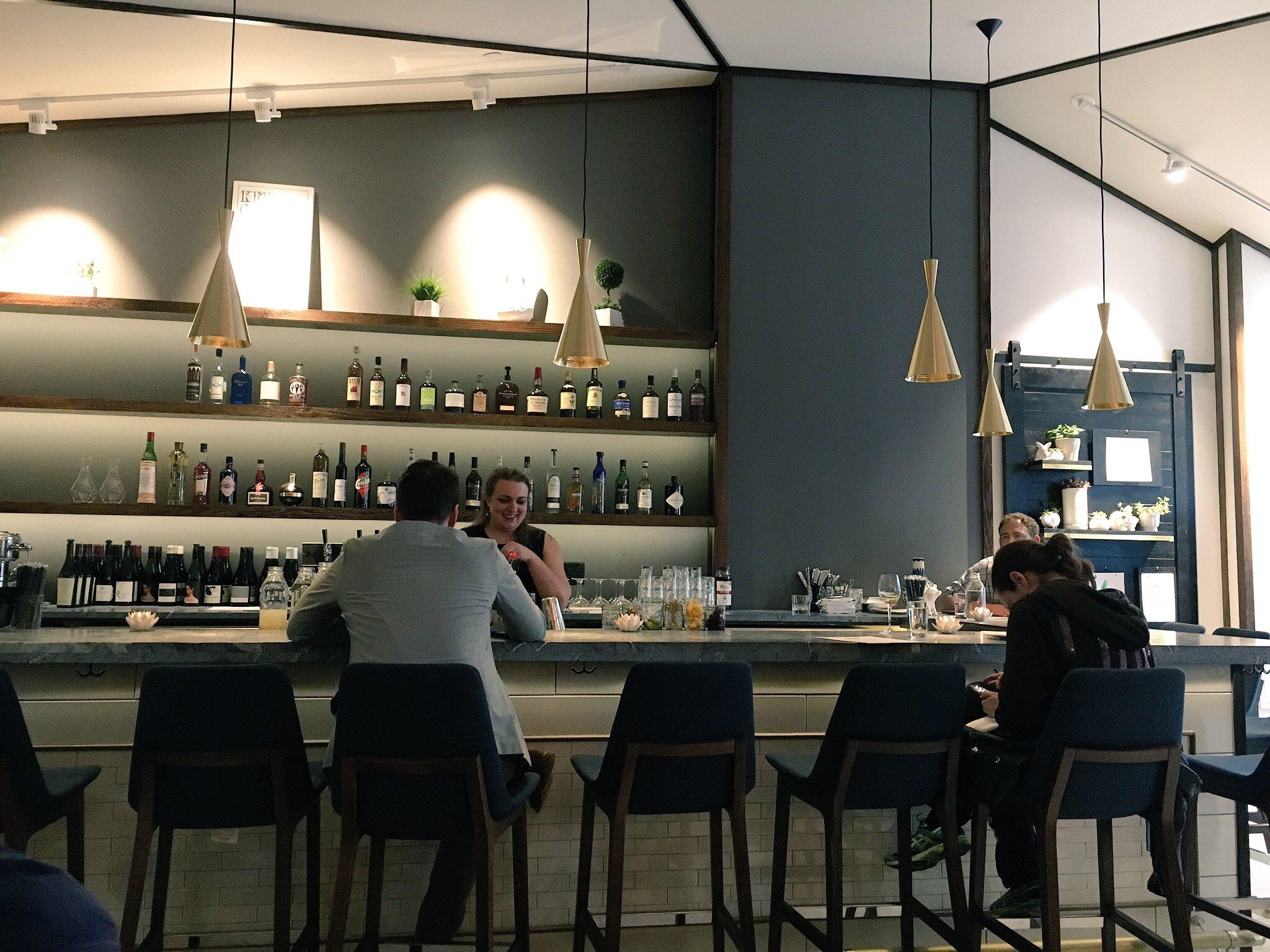 Bar area at kyirisan