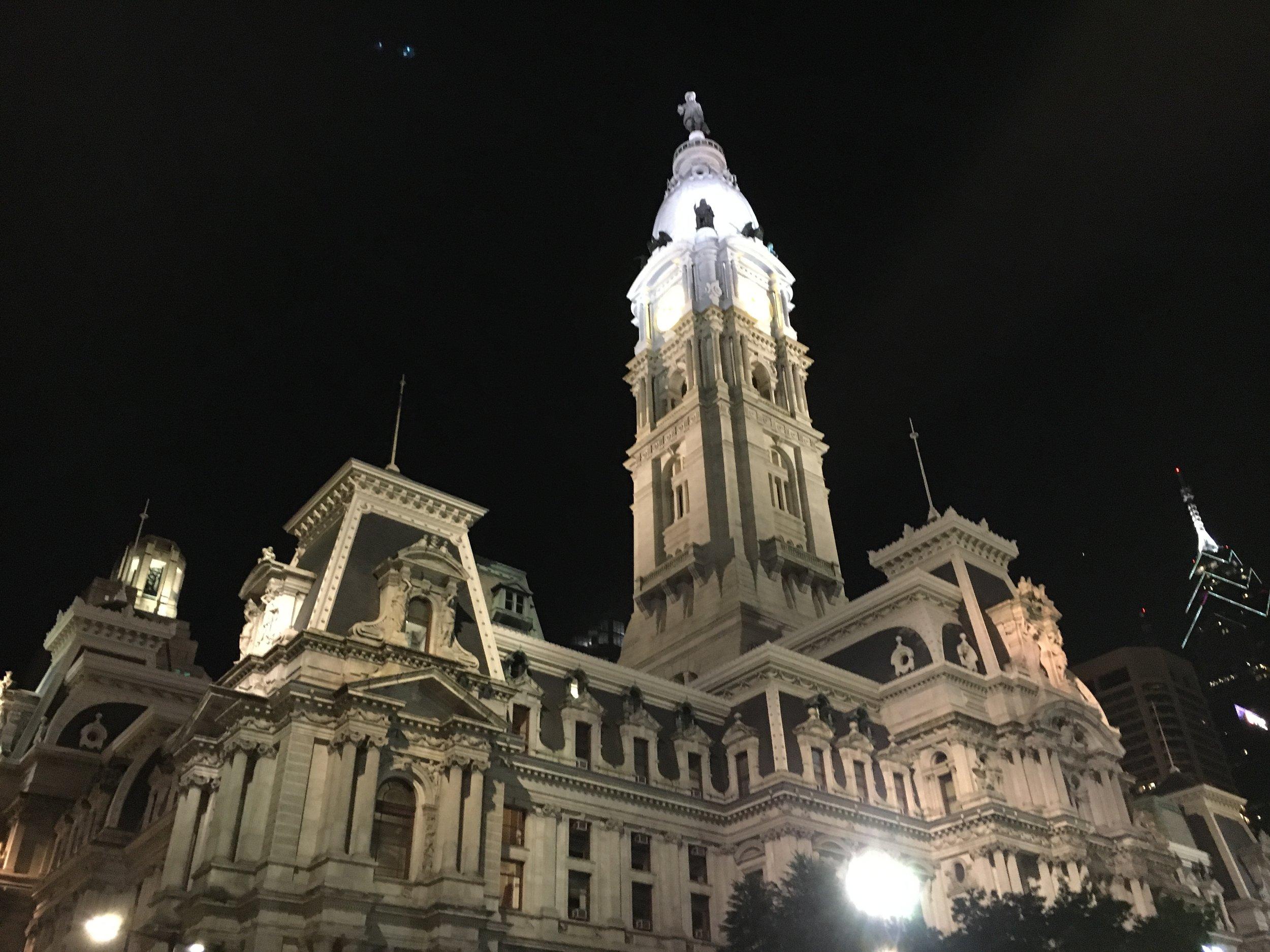 Philadelphia City Hall - stone's throw from the Windsor