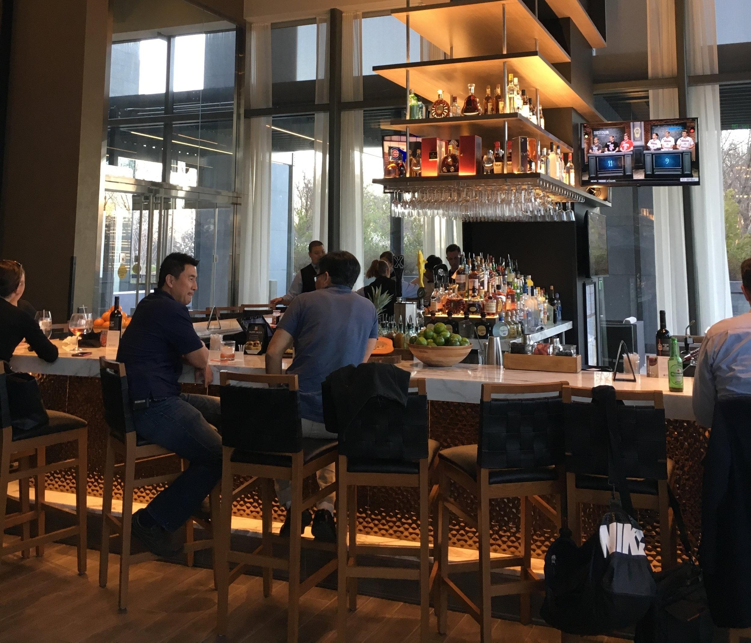 The bar at Fogo De Chao -Tysons