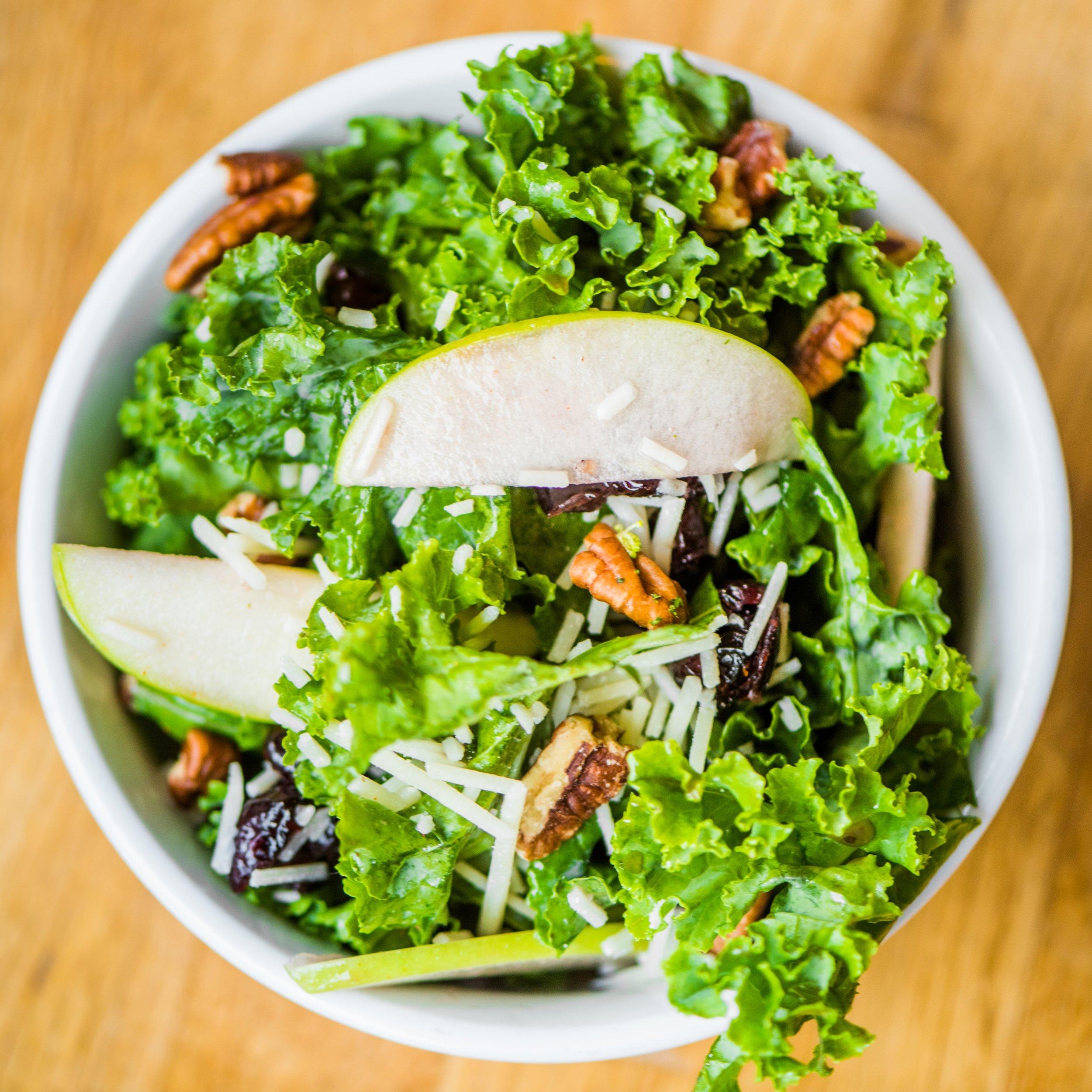 Kale salad (Photo credit Takoda)