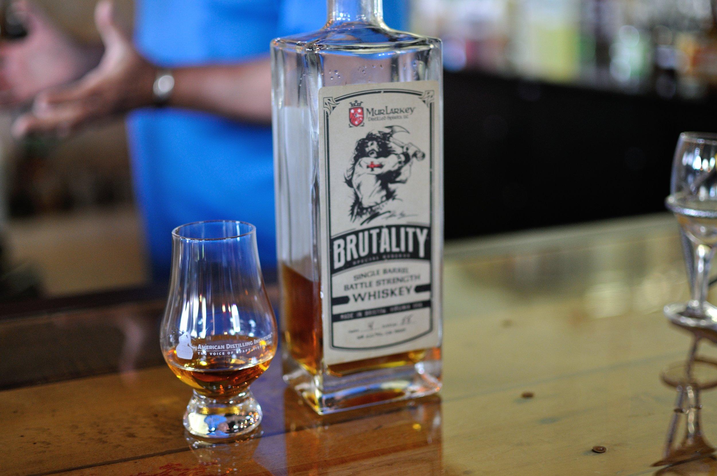 Murlarkey distillery tasting
