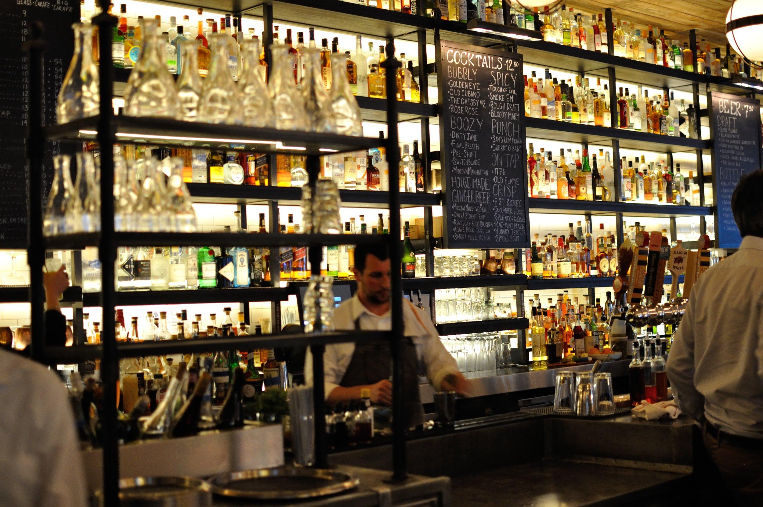 Bar at The Smith