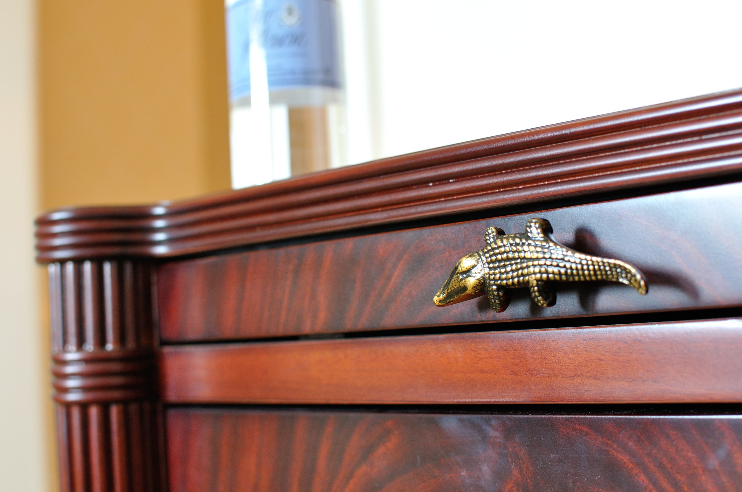 Lots of little alligator details