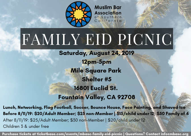 Purchase tickets at  ticketbase.com/events/mbasc-family-eid-picnic