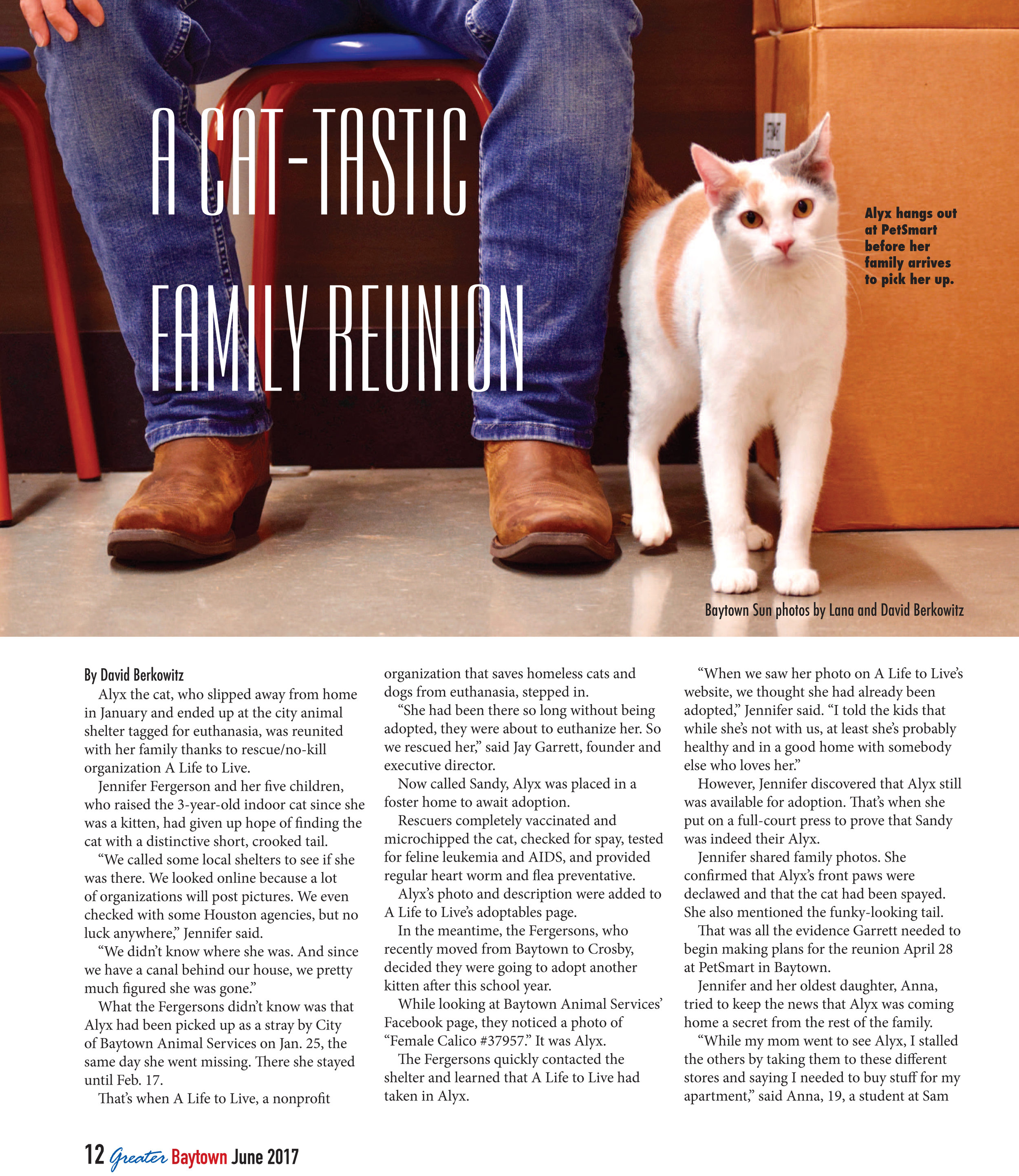 06.09.17 - Greater Baytown Magazine - Cat Reunion - Page 1.jpg