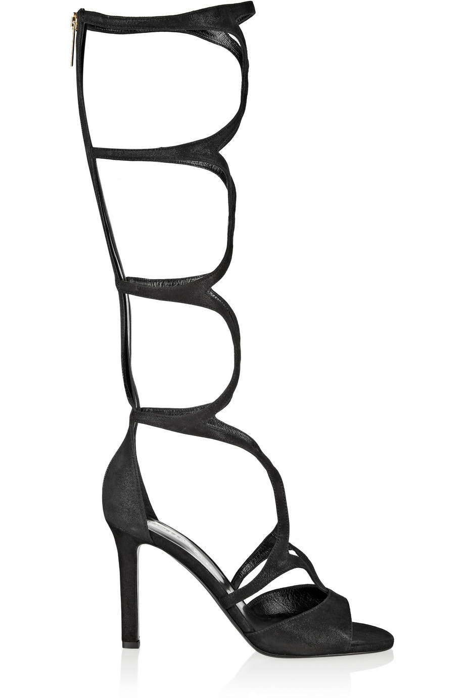 Tamara Mellon Exposure Suede Sandals $597.50