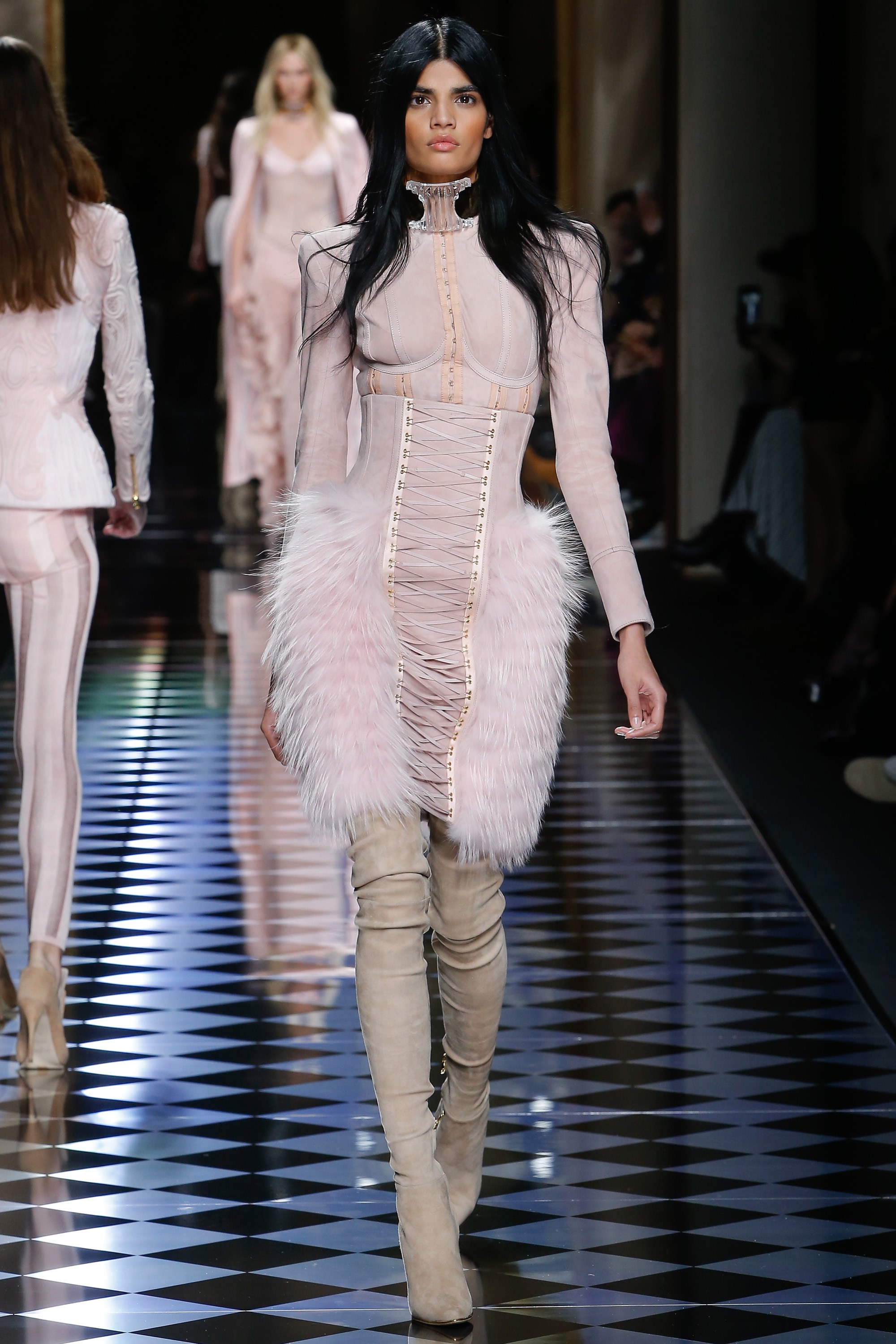 Balmain Fall RTW 2016 | The Style Covet