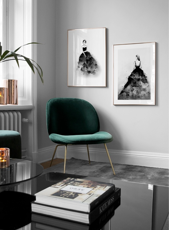 Desenio Gallery Wall | The Style Covet