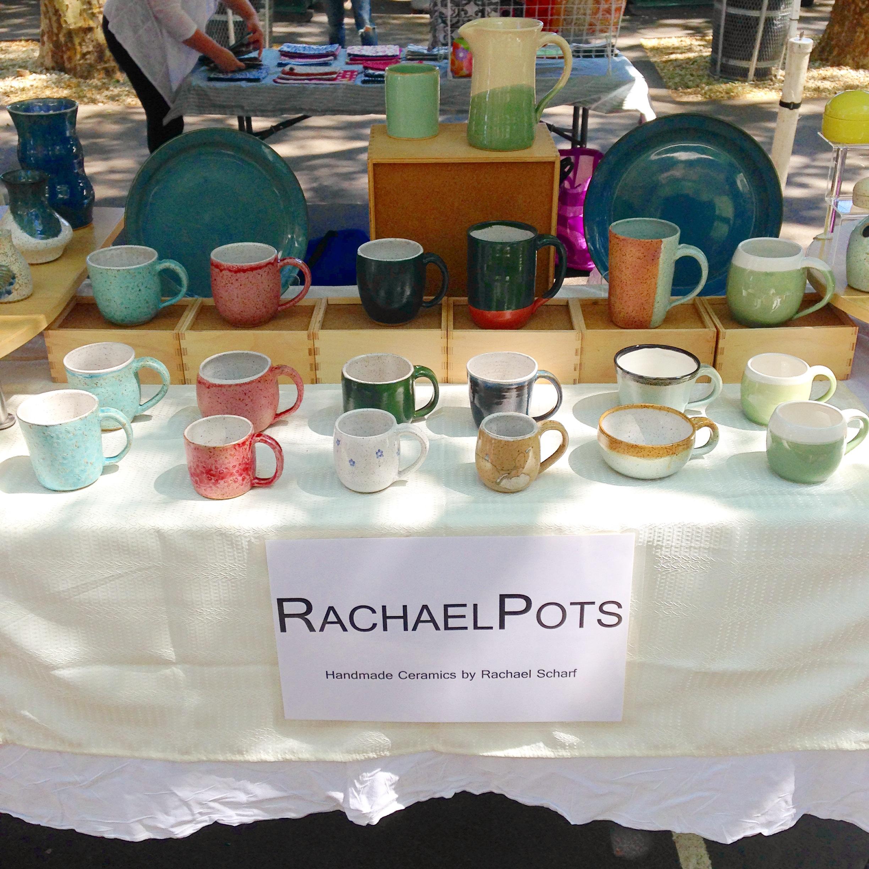 The mug set up at Hester Street!