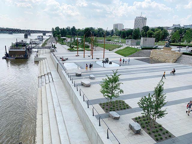 Views on the Vistula. #waterfrontpark
