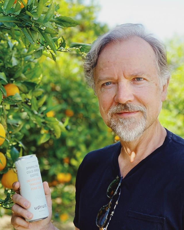 In the future I live on an orange grove and drink Upruit.
