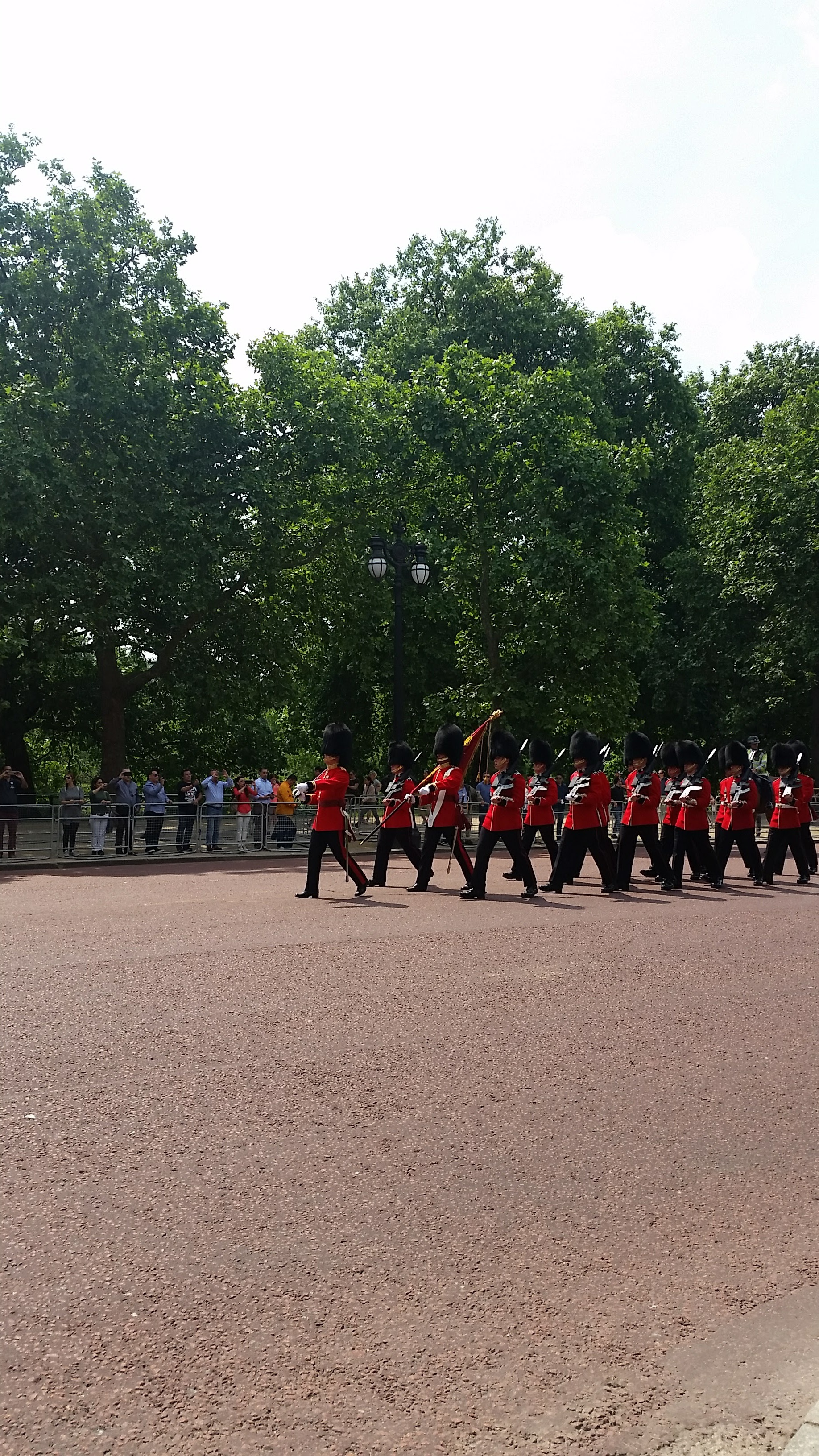 Changing of the Guards/Dudes with Big Silly Furry Hats