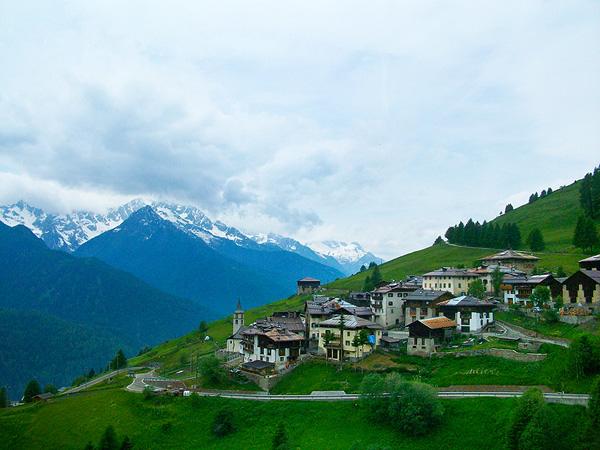 Mountain Village Italy