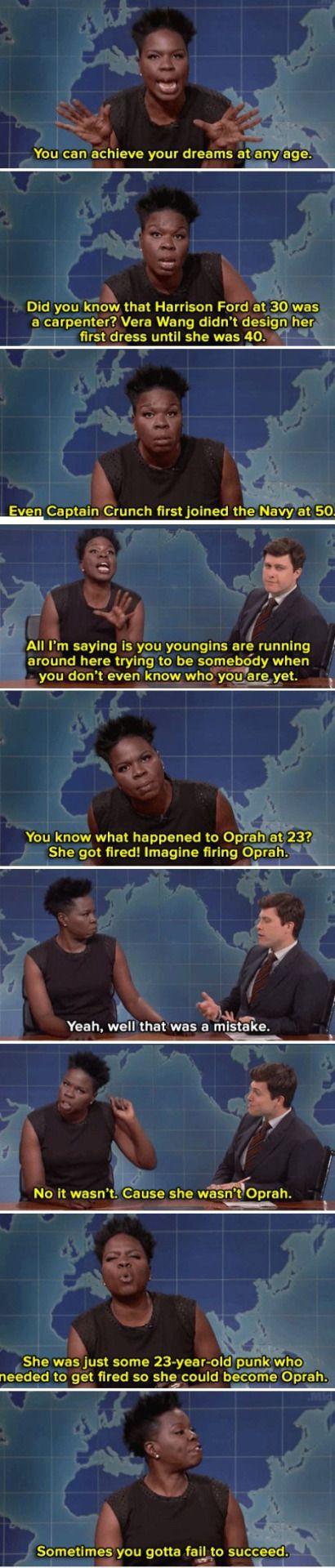 The brilliant Leslie Jones on SNL