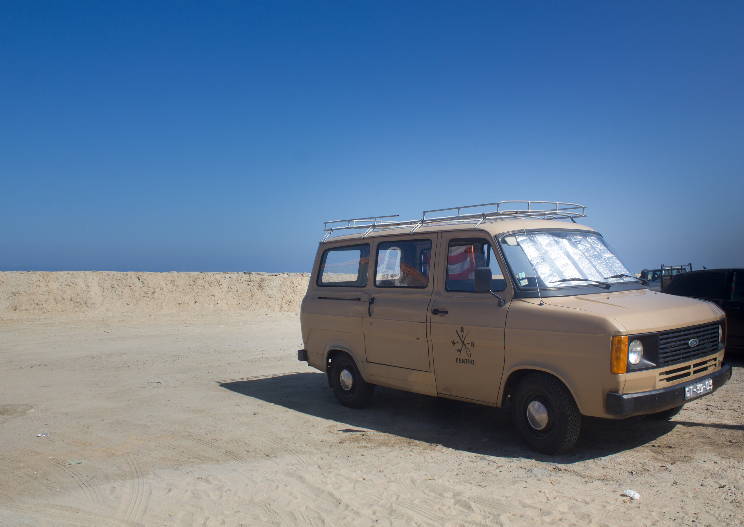The  Mar Dentro  Surf Van
