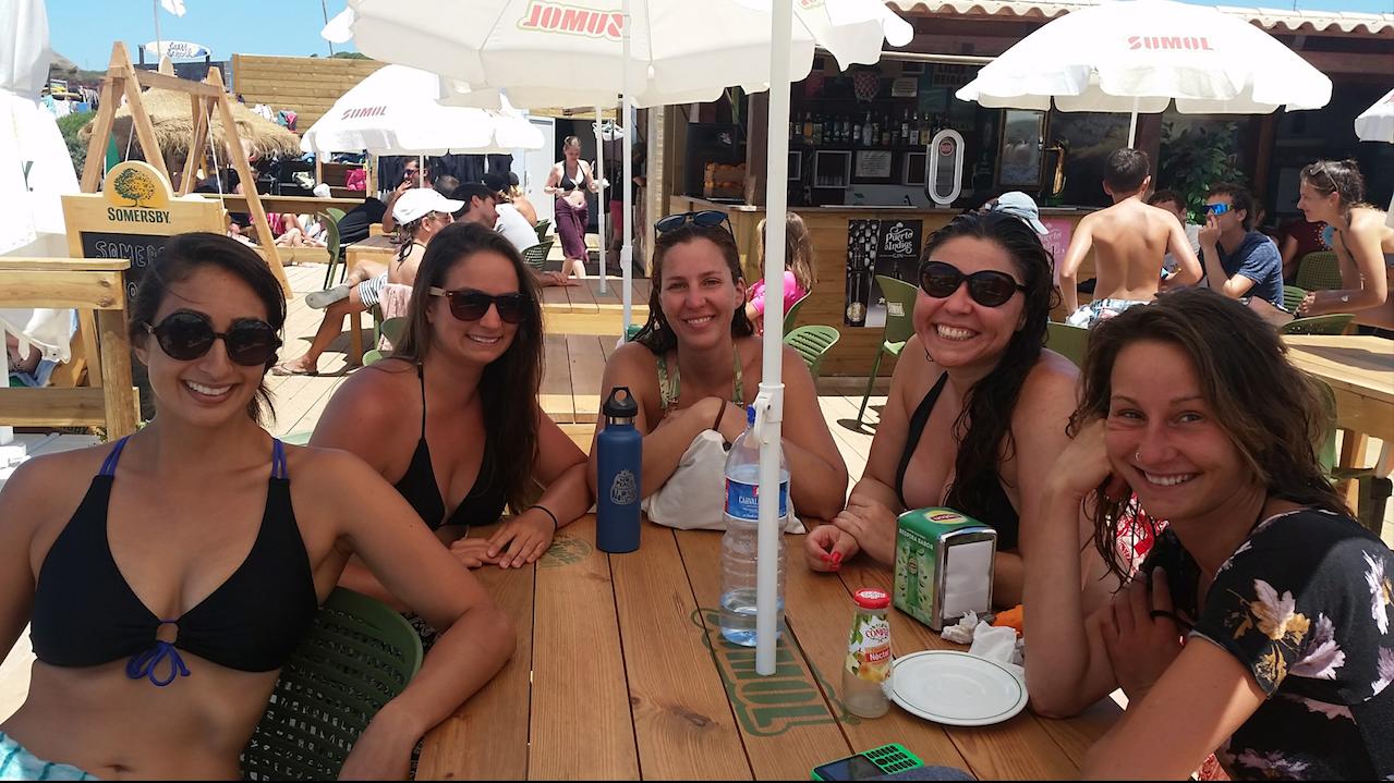 Caitlin, Me, Maristela, Tamara, & Aicha