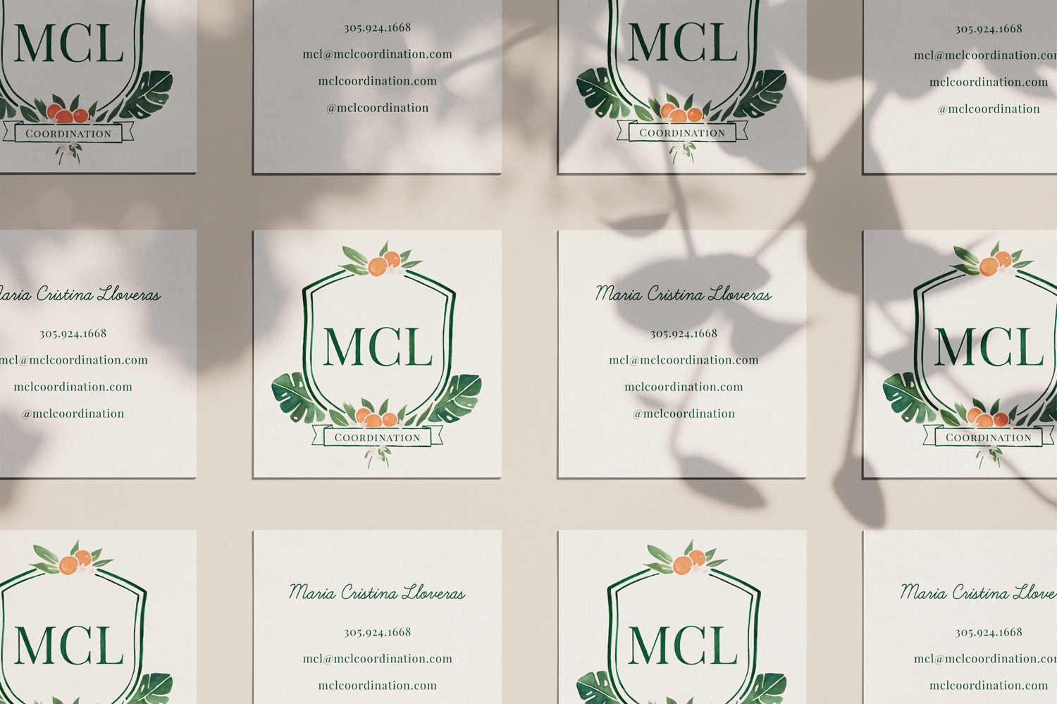 Brand Design for Wedding Planner by Haley Grand