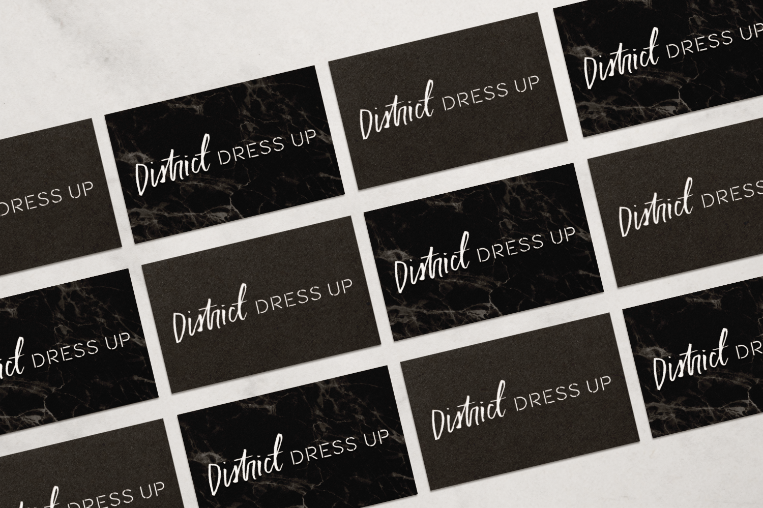 Brand Design by Haley Grand for District Dress Up