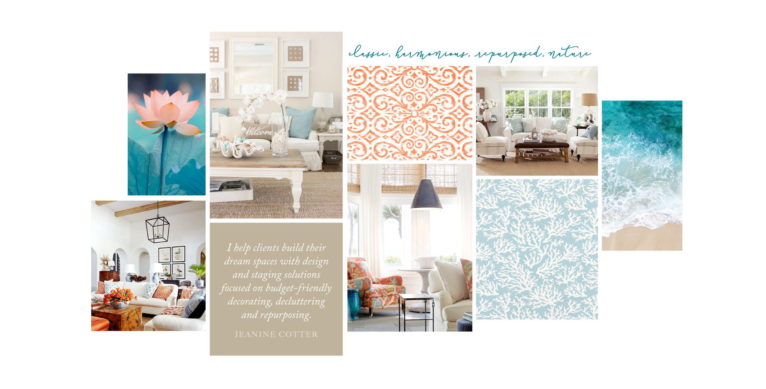 Mood Board Design For Interior Designer