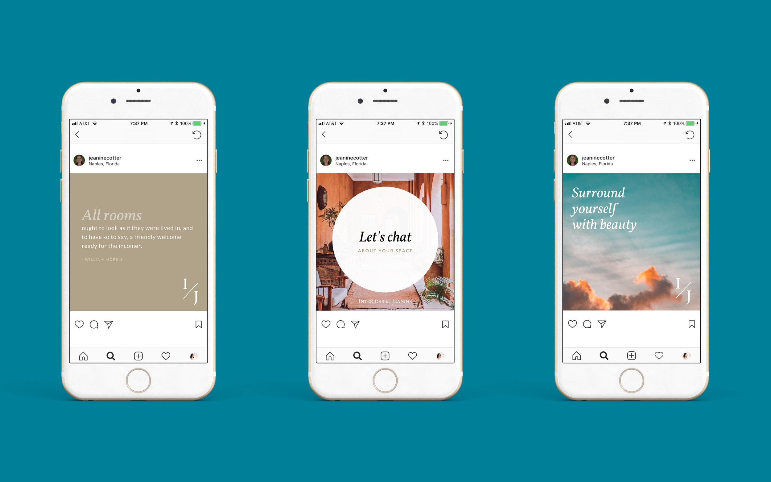 Social Media Strategy For Interior Designer