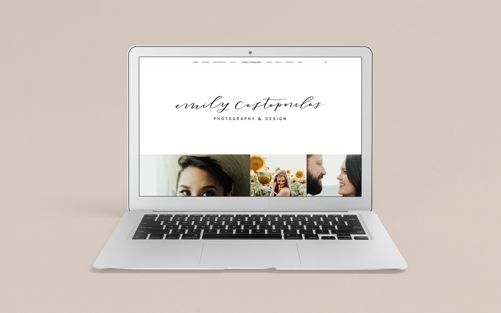 Website Design for Photographer by Haley Grand