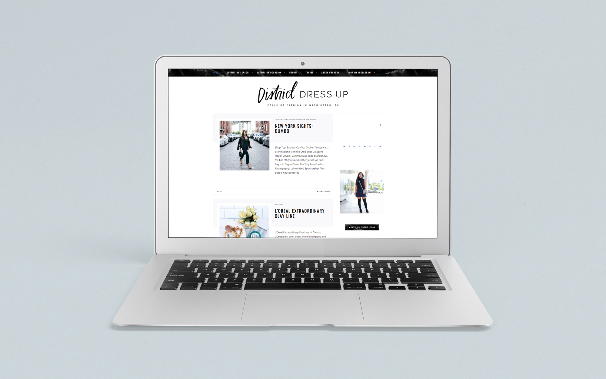 Brand Design for Fashion Blogger by Haley Grand